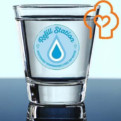 Leitungswasser kostenfrei trinken | Wasserflasche kostenlos auffüllen